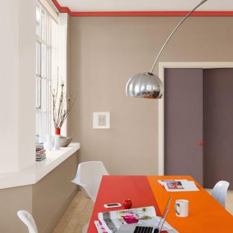 trend 2015 röd taklist orange bord