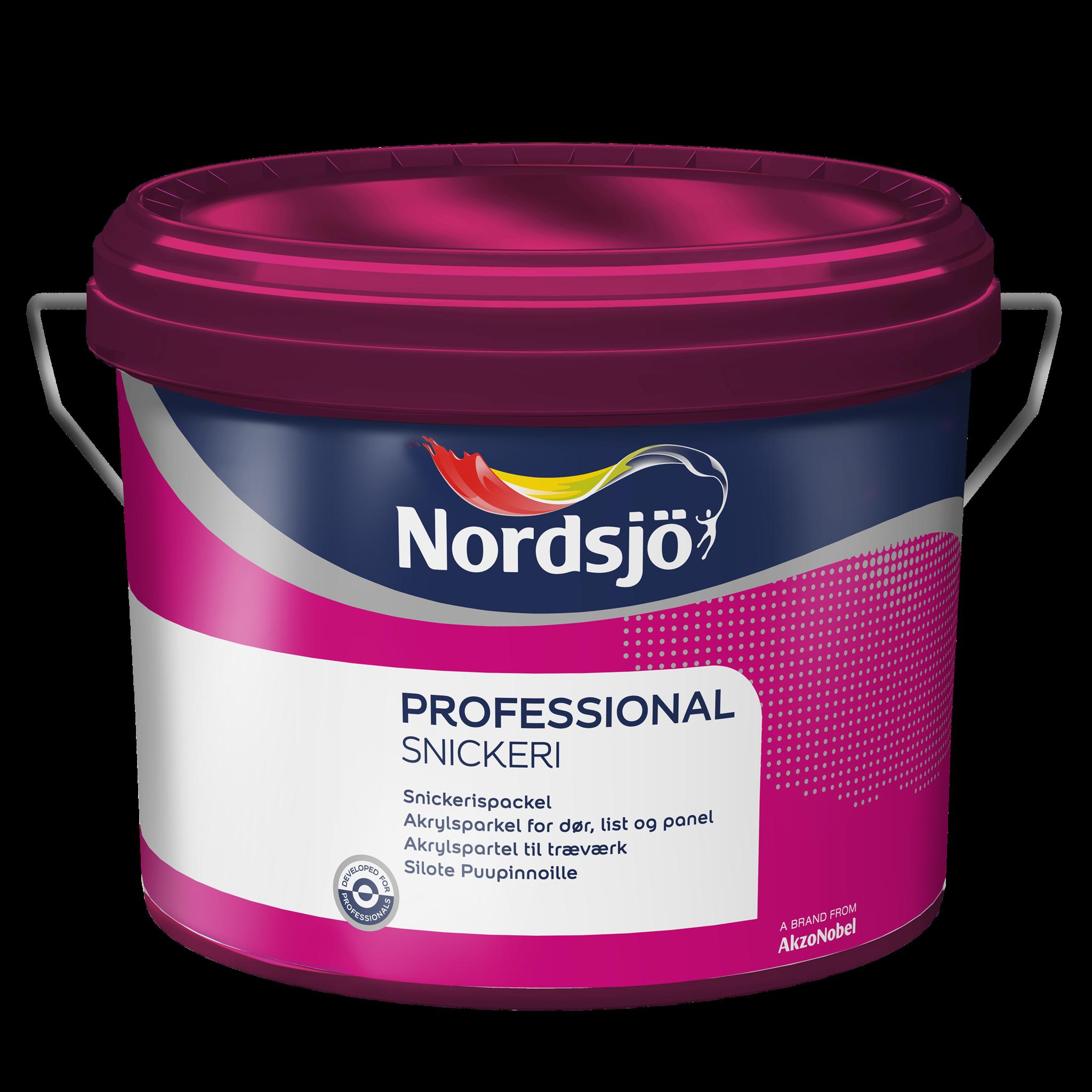 Nordsjö Professional Snickerispackel