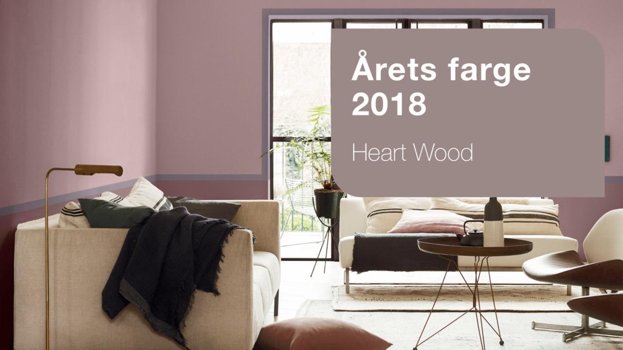 197 Rets Farge 2018 Heart Wood Nordsj 246 Id 233 Amp Design