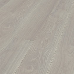 RBI Kronotex Exquisit Oak Waveless White laminatgulv