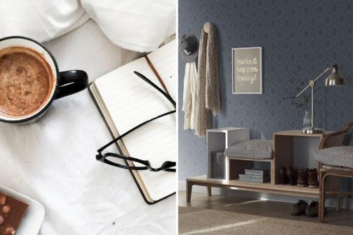 Nordsjö Idé & Design Inspirasjon Finn din stil Nordisk stil Nordiske tapeter