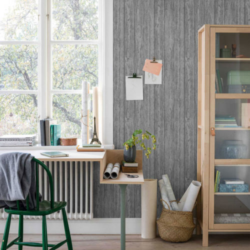 Nordsjö Idé & Design tapet borge wooden panel 33518