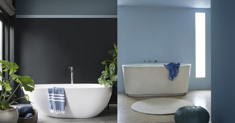 Til deg som skal male bad, her ser du to gode eksempler