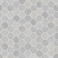 Aqua 4024-3 Hexagon, våtromstapet fra Borge