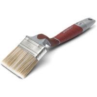 Flat perfect pensel 75 mm på hvit bakgrunn
