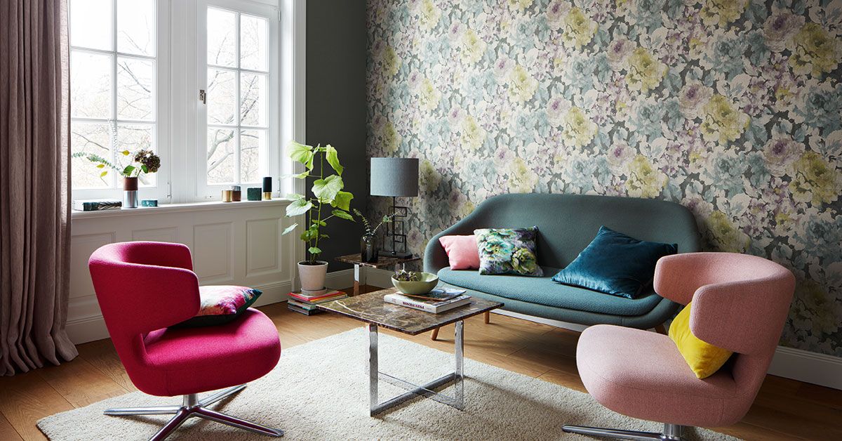 Picture of: Tapet Stue Tre Gode Tips Nordsjo Ide Design