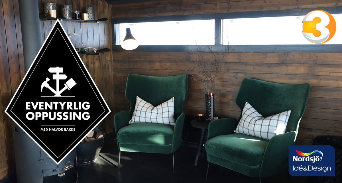 Eventyrlig Oppussing 2017 Med Nordsjo Ide Design